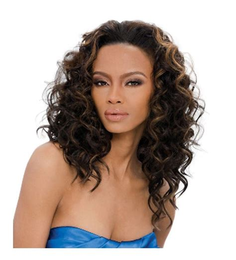 curly hairstyles in kenya kenya outre quick weave synthetic half wig long curly style