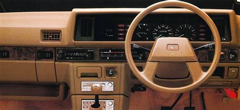 daihatsu rocky interior daihatsu charmant a reliable sedan of the 1980s carspiritpk