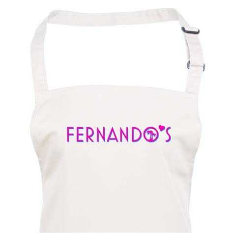 personalised aprons hats clothing gallery of work