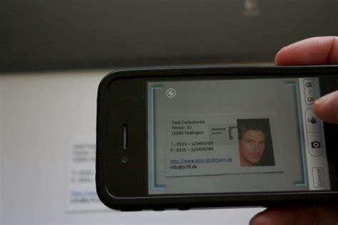 Visitenkarten Scannen App by App Test Worldcard Mobile Visitenkarten Einscannen Mit