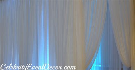best fabric for draping celebrity event decor banquet hall llc