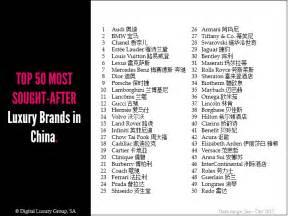 Luxury Designer Brands List - chanel tops list of china s 50 most popular luxury brands accessories magazine