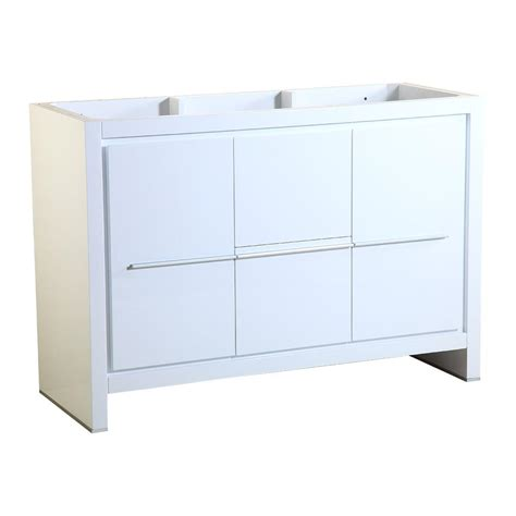 Stylish Bathroom Storage Home Decorators Collection Gazette 48 In W Bath Vanity Cabinet Only In White Gawa4822d The