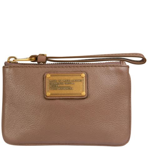 Marc Beckham And Marc Wristlet Clutch by Marc By Marc Small Wristlet Purse Rootbeer One