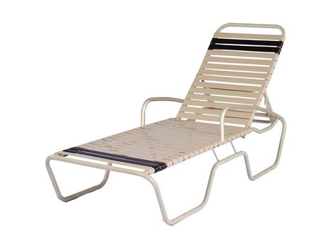 aluminum chaise lounge suncoast sanibel strap aluminum arm adjustable chaise