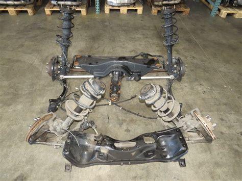 toyota subaru 2005 jdm impreza wrx rear subframe differential suspension 2002