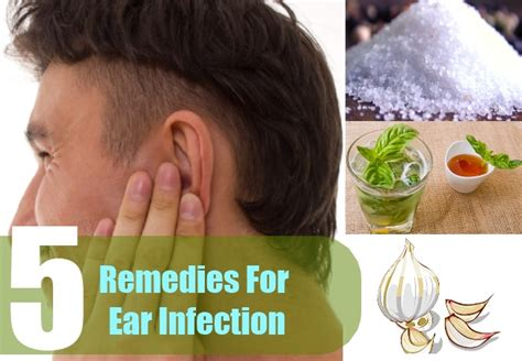 ear infection remedy 5 home remedy for ear infection treatment cure for ear infection
