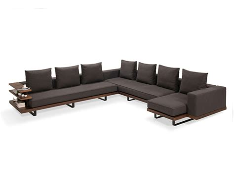 wraparound sofa faruk malhan s gazel sofa features modern wrap around