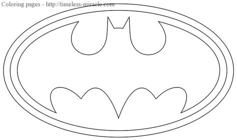 coloring pages of the batman symbol batman symbol coloring pages