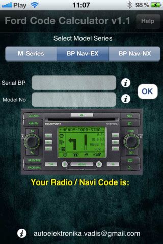 Ford Radio Codes Free Software Download