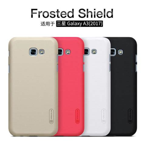 Nillkin Frosted Premium Samsung Galaxy A3 Black nillkin frosted shield for samsung galaxy a3 2017 black jakartanotebook