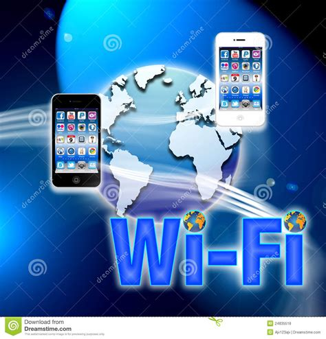 mobile wireless network wi fi mobile wireless network editorial stock photo