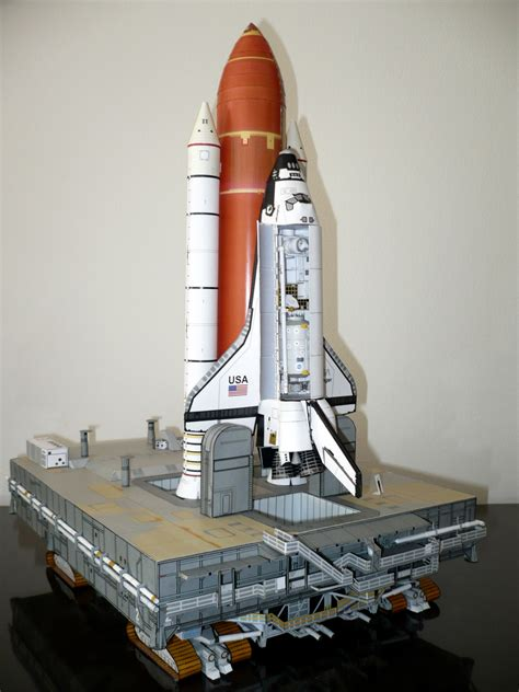 Space Shuttle Papercraft - craft