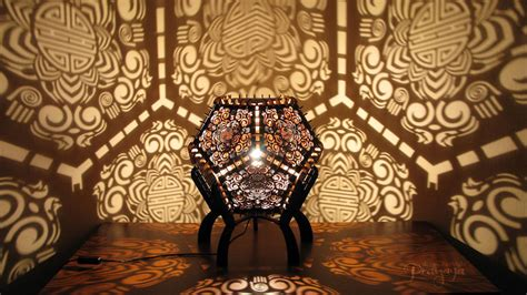Idea For Small Bathroom by Laser Cut Shadow Lamps Shine By Design