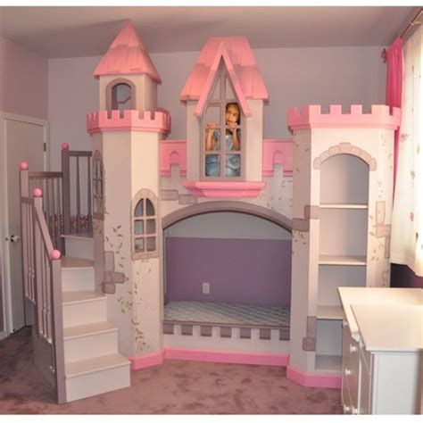 Girls Castle Beds Elegance Dream Home Design Castle Bunk Bed