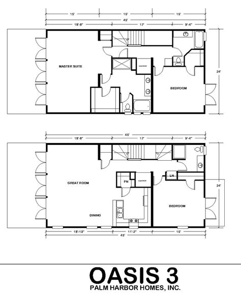 simple two storey house floor plan oasis