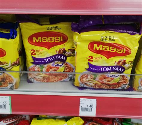 Mie Maggie Tom Yam erico putra kekuatan brand mie malaysia