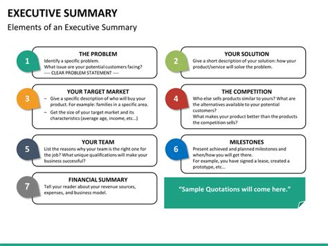 project summary template promise to pay sample