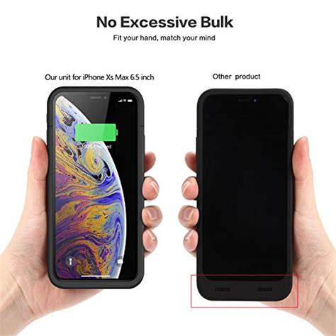 iphone xs max battery 6200mah slim portable charger rechargeable 842688982946 ebay