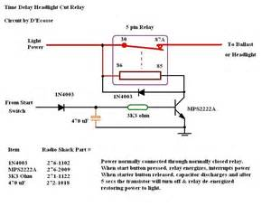 12 volt time delay relay wiring diagram 12 free engine