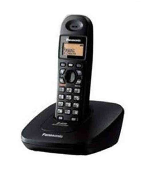 Panasonic Kx Tg2511 Telephone Wireless It Black buy panasonic kx tg3615bx cordless landline phone black at best price in india snapdeal