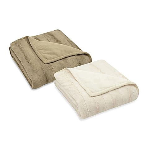 bed bath and beyond throws mink reversible throw bed bath beyond