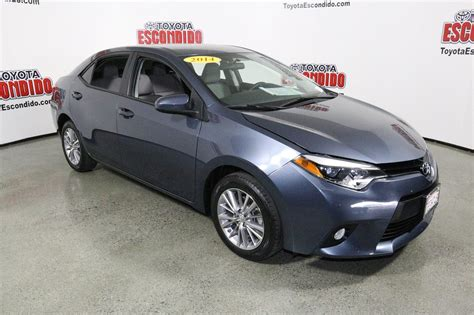 Toyota Corolla Pre Owned Certified Pre Owned 2014 Toyota Corolla 4dr Car In