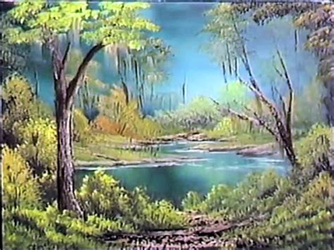 bob ross painting emerald waters what if bob ross painted the unhinged lands