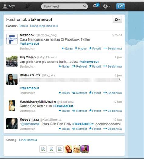 membuat hashtag twitter cara menggunakan hashtag di facebook twitter