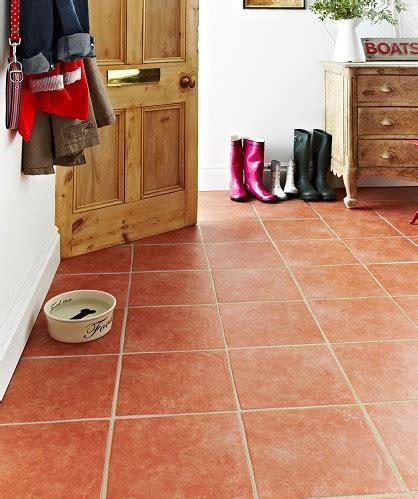 terracotta laminate flooring tile effect cora terracotta floor tile topps tiles