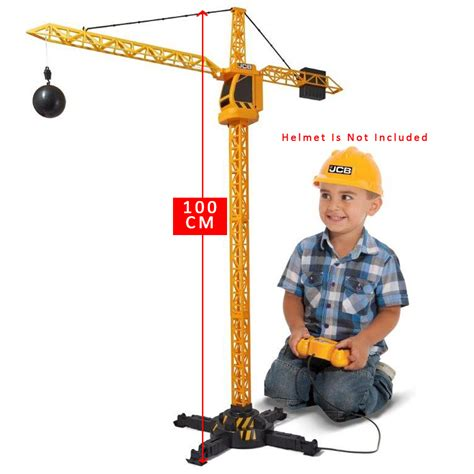 Rc Tower Crane Mainan Remote Crane new 2017 construction machines remote rc tower crane gift 5050837398714 ebay