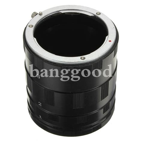 Macro Extension 3 Rings For Sony Alpha Nex macro extension ring for sony e nex 3 nex 5n nex c3 nex 5c nex7 nex5 us 6 60 sold out