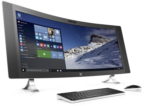 Hp One hp lanza el primer pc all in one mundo de 34 pulgadas con pantalla curva