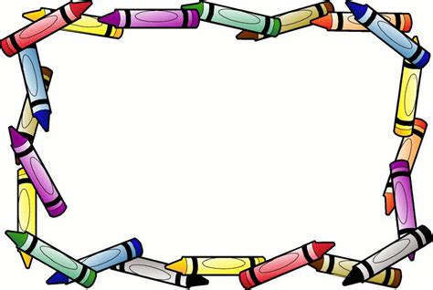 lined paper with crayon border border design paper crayon free page borders spyfind