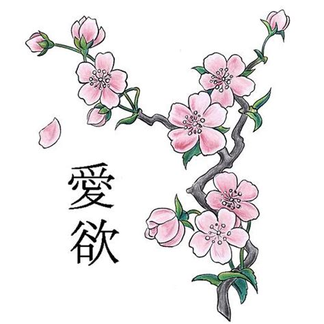 asian flower tattoo designs cherry blossom designs their meanings