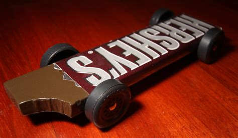 hershey s chocolate bar pinewood derby car hershey s