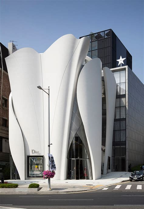 seoul house the house of dior in seoul by christian de portzarc metalocus