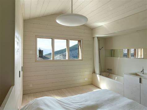 bathroom wood ceiling ideas rustic residence maison cambolin located in albinen