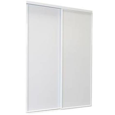 72 Sliding Closet Doors by Shop Reliabilt White Flush Sliding Closet Interior Door