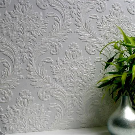 leaf pattern anaglypta 437 rd80027 high trad textured vinyl anaglypta wallpaper