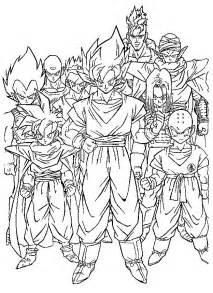 Coloriages De Dragon Ball Z Az Coloriage L