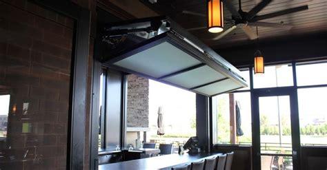 Bifold Door Over Counter Top At Granite City Brewery In Bifold Overhead Doors