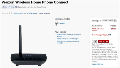 verizon home phone connect redux