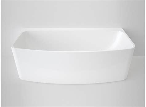 Urbane Back To Wall Freestanding Bath White   Cooks Plumbing