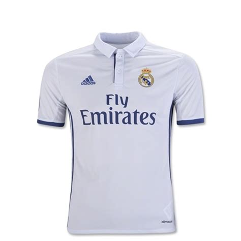 Jersey Murah Prematch Real Madrid White 2016 adidas real madrid youth home soccer jersey 2016 2017 soccer replica jerseys 1soccerstore