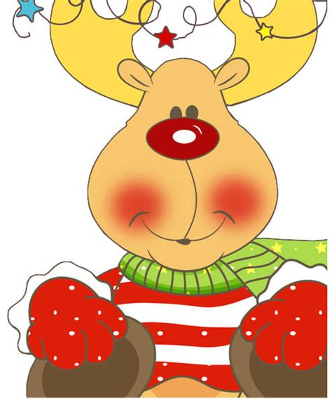 imagenes de navidad a color animadas renos