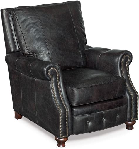 black leather recliner winslow black leather recliner from coleman furniture