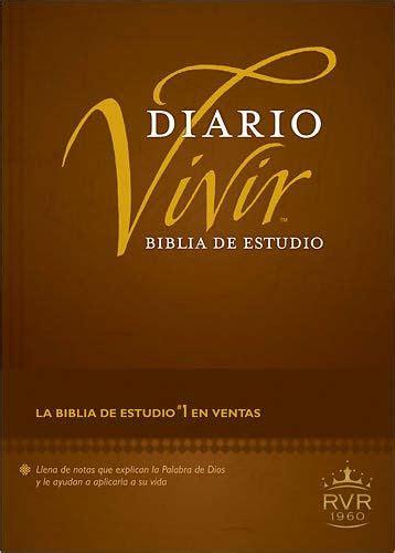 biblia de estudio de 0829719806 biblia de estudio diario vivir rvr60 by tyndale hardcover barnes noble 174