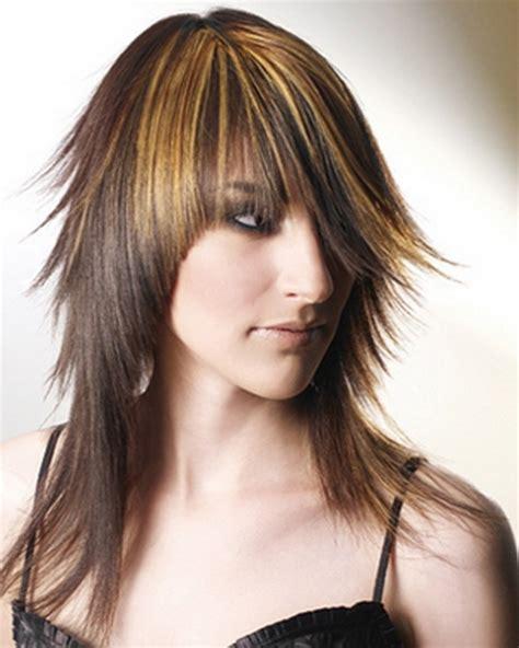 medium length layered hair step by step step by step layered haircut