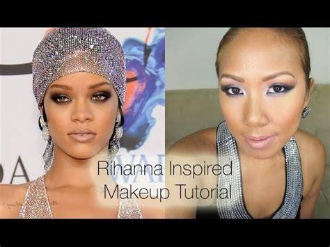 rihanna inspired makeup tutorial rihanna cfda awards inspired makeup tutorial all